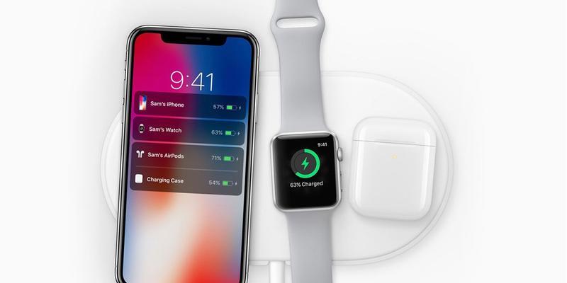 Airpods se muestra con otros dispositivos de Apple
