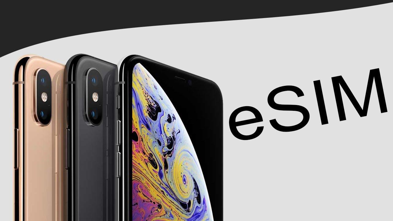 Muestra de Apple y su e SIM dentro del evento de septiembre