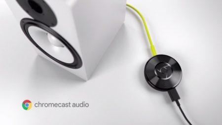 Dispositivo de Audio Chromecast se suspende