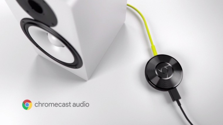 Dispositivo de Audio Chromecast se suspende