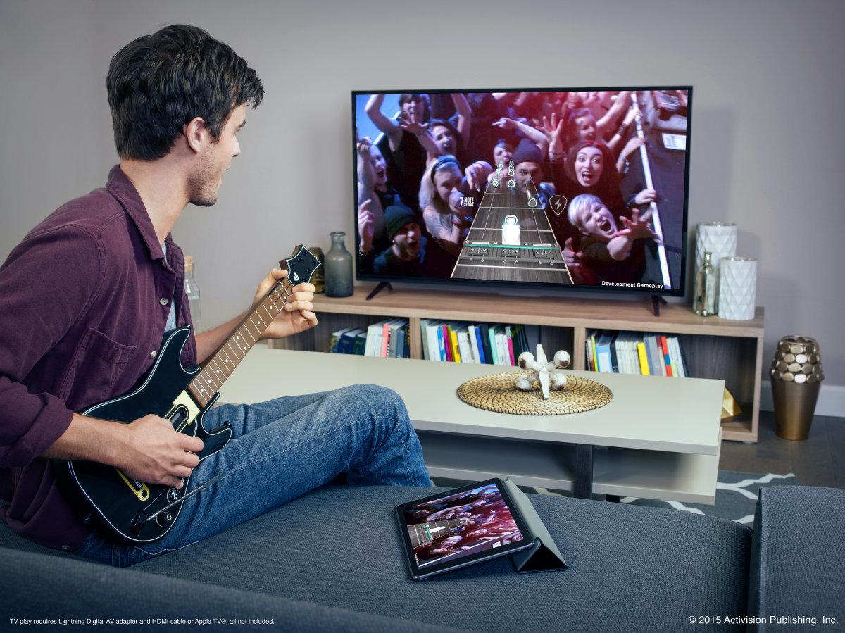 Guitar Hero Live PR Render