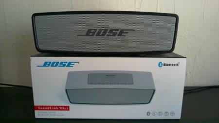 El mejor altavoz Portátil Bose Soundlink Mini