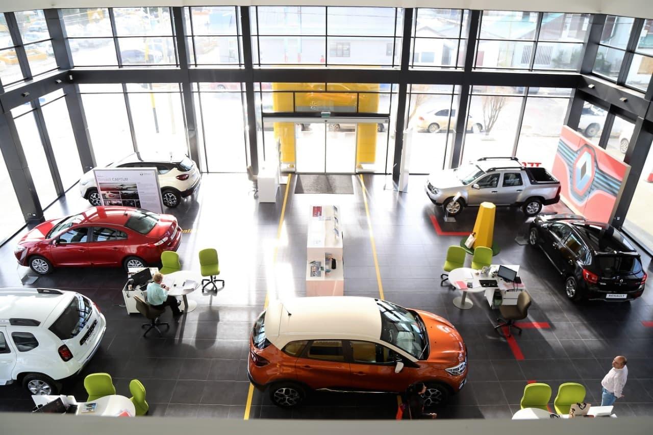 Financiamiento en la agencia de coches
