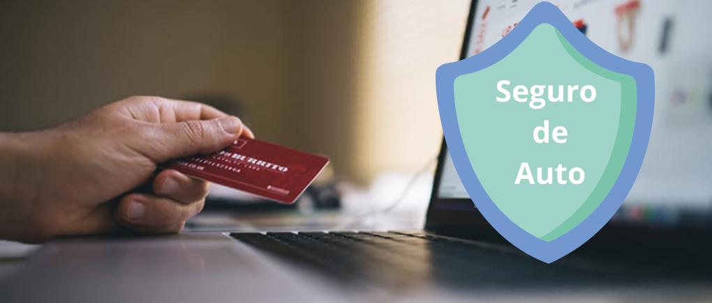 Seguro de coche de alquiler: tarjeta de crédito